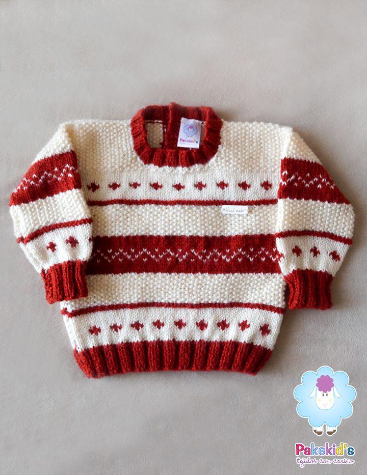 Sweater Jacquard y Puntos Pakekid's