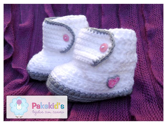 Botas Blancas - Pakekid's