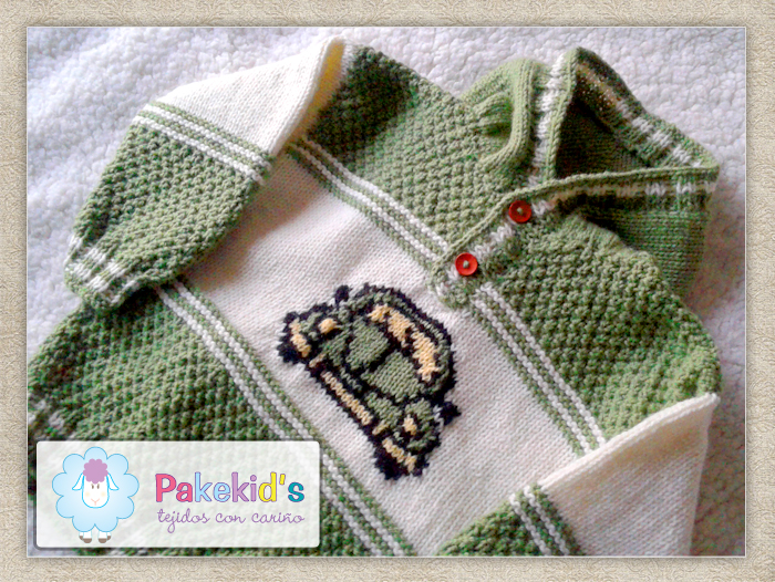 Sweater con Bordado - Pakekid's