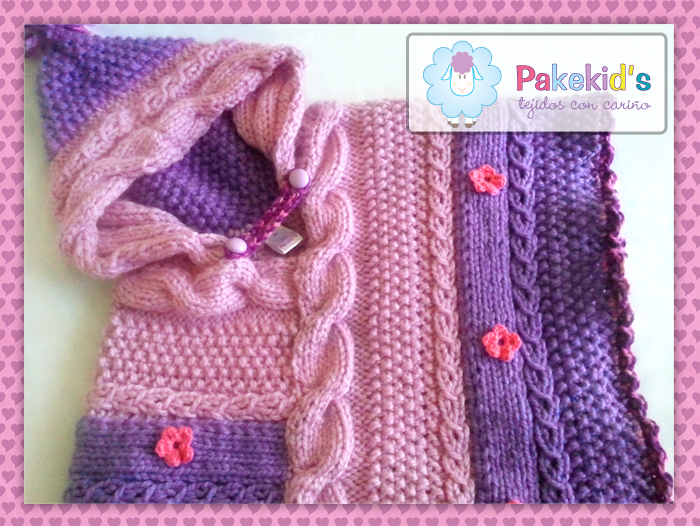 Poncho Bi Color - Pakekid's